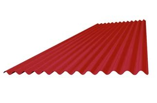 Pre -Painted corrugated sheet W 18