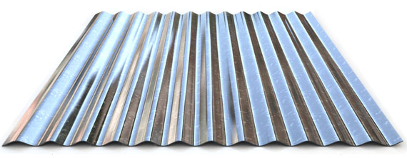 Galvanized corrugated sheet W18