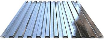 Galvanized corrugated sheet KP21